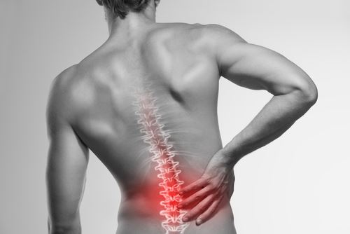 Spine Injury on Man - Catastrophic Injury